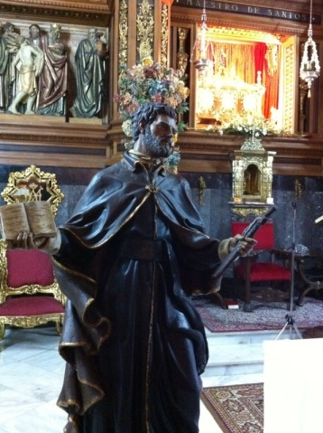 Boceto imagen San Juan de Ávila