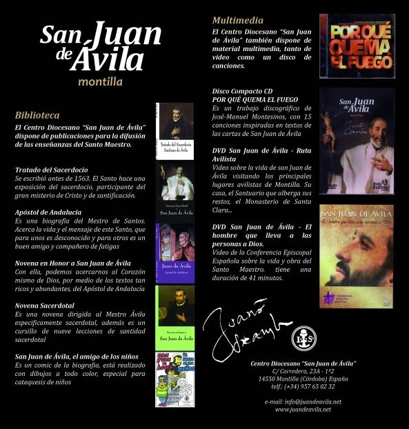 libros y discos Juan de Avila