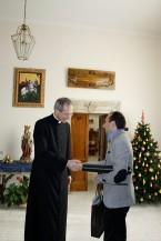 Con Monseñor Guido marini 3