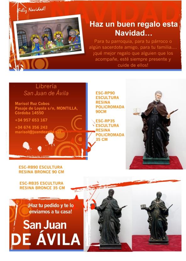 ¡¡Lleva a San Juan de Ávila a tu casa o a tu parroquia!!