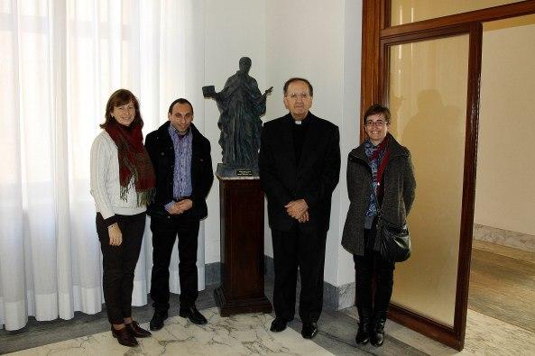 con Monseñor Beniamino Stella