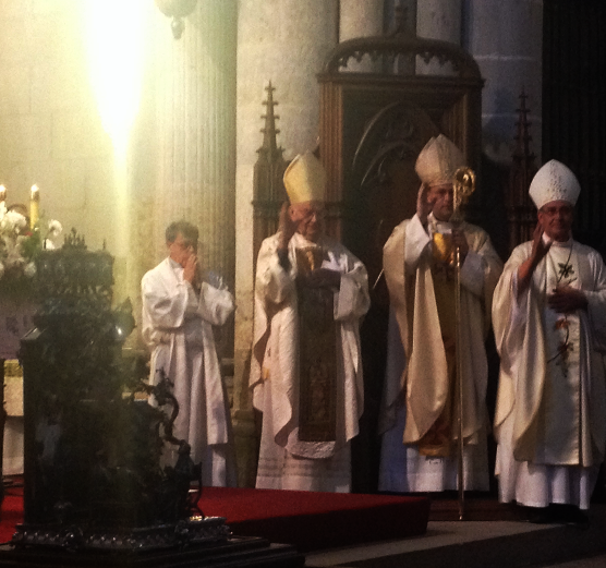 La Diócesis de Ciudad Rodrigo recibe las Reliquias