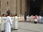 Encuentro Sacerdotes de Aragón en el Pilar.
